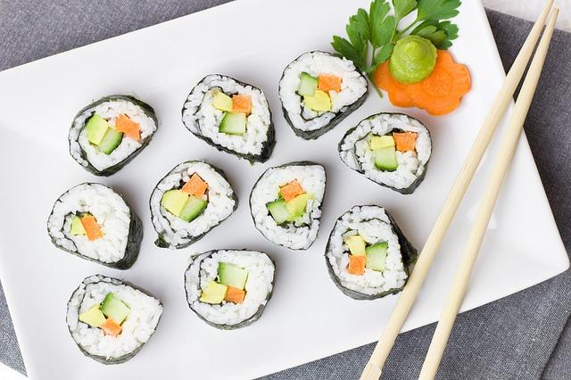 ベジタリアン寿司