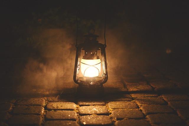 神の明かり