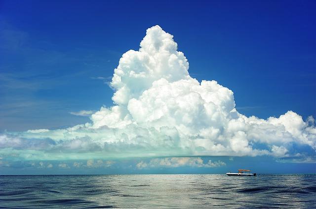 おめでたいことがやってくる前兆に出る雲