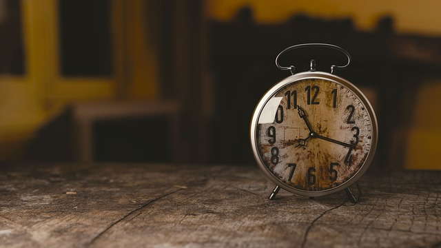 神が与えた三つのうちの一つ時計