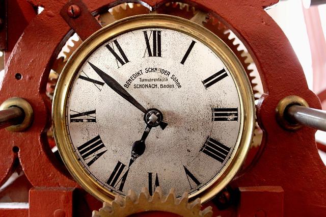 時計のスピードと神
