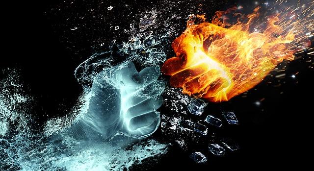 燃えるほどの憎しみ