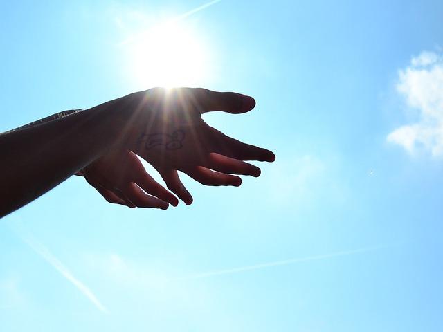 イエスの手