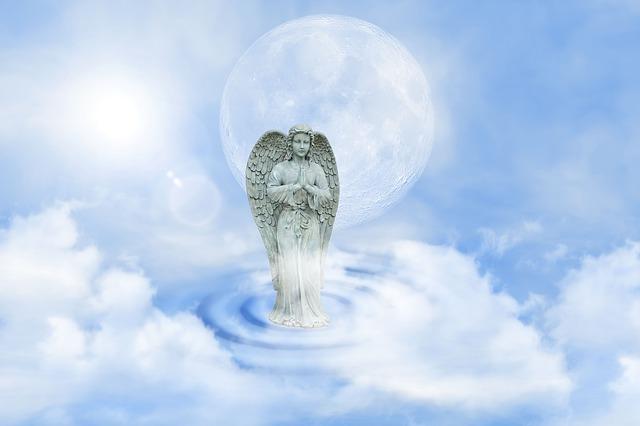大木の神と話す神の化身