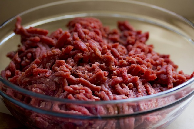肉料理ミンチ