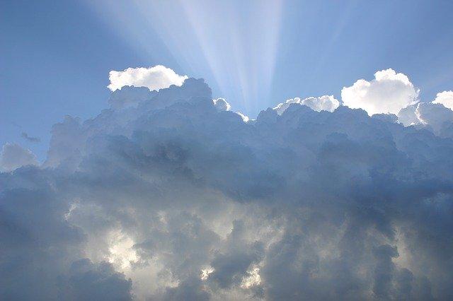 神と行く天国の空