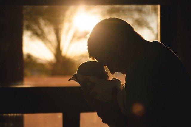 彼女と赤ちゃん