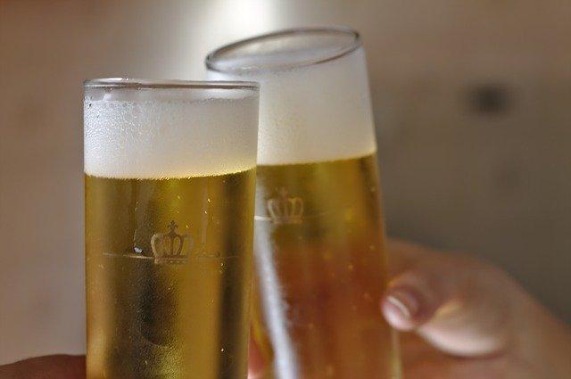 神とビール