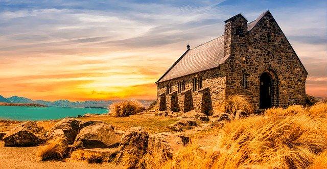 古びた教会