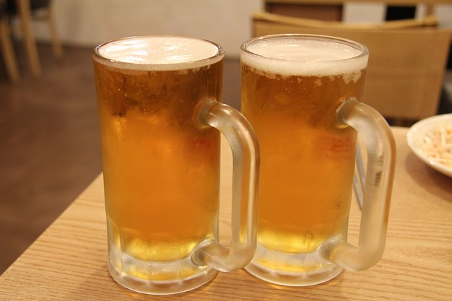 神と生ビール