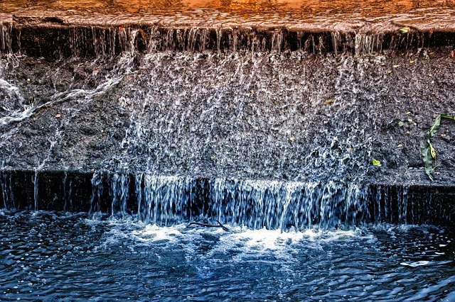 恐怖と水の流れ