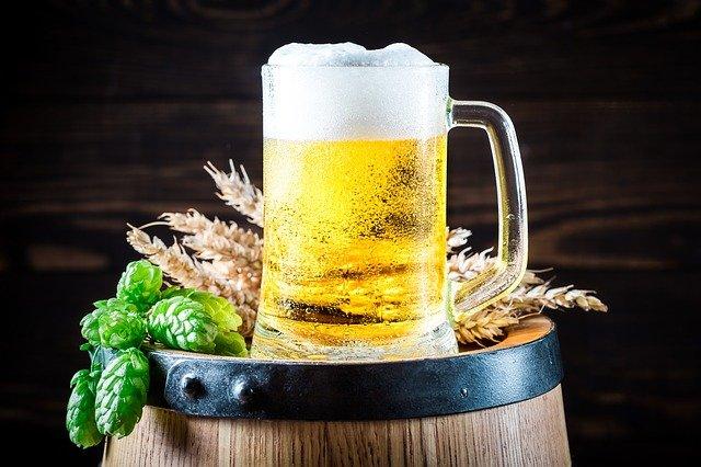 神様と生ビール